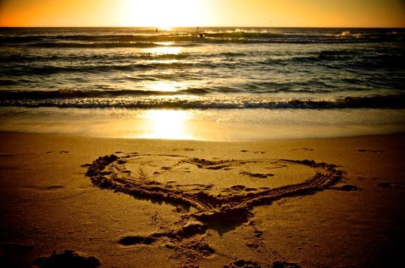 Sunrise in Bondi Beach